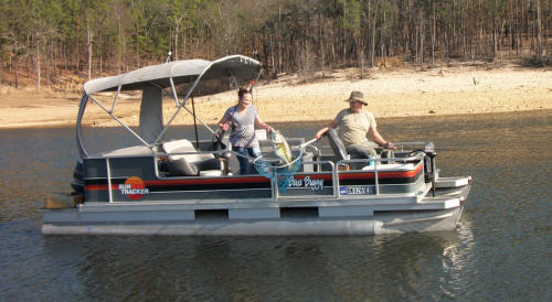 Sit Back and Relax on a Pontoon Boat
